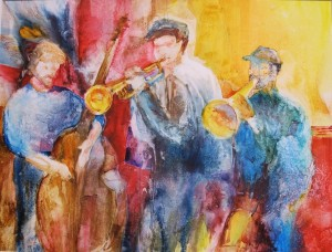 Czech the Musicians (on Yupo paper), Sold