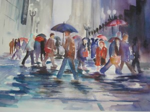 Rainy Day Traffic, Sold